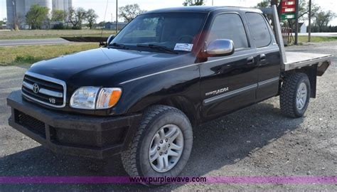 Toyota Tundra Flatbed Wednesday August 12 Vehicles And Equipment Auction In By