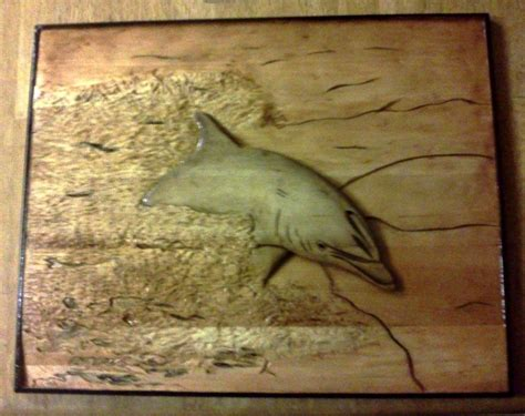 custom dolphin relief carving  relief carvings  mark