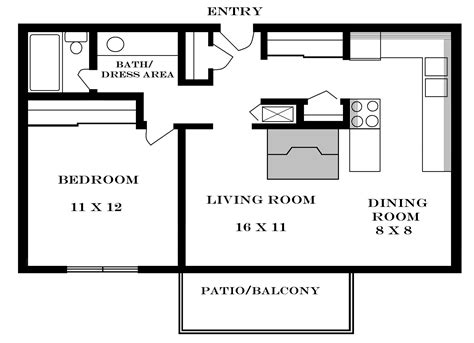 floor plan of apartment studio apartment floor plans free images 07