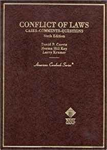 family cases comments and questions american casebook series books conflict of laws cases comments questions american