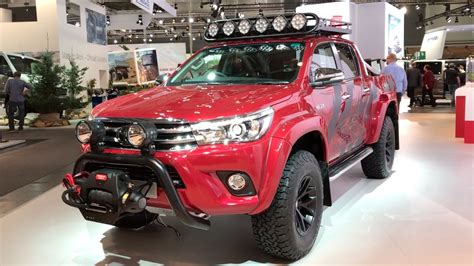 toyota hilux arctic toyota hilux arctic trucks at35 2017 in detail review