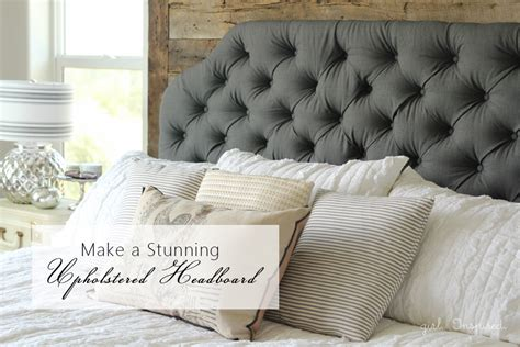 How To Make Padded Headboards For Beds by How To Make An Upholstered Headboard Inspired