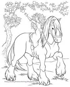 brave coloring pages brave merida coloring pages