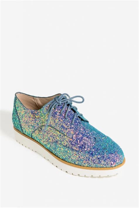 sparkle oxford shoes oxford shoes holographic glitter silver clear