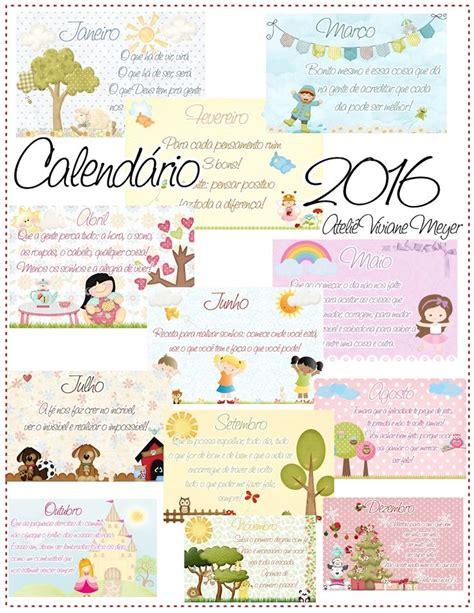 Calendario P 2016 Die Besten 17 Ideen Zu Calend 225 2016 Para Imprimir Auf