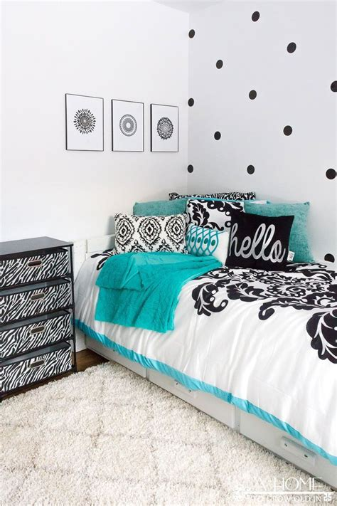 teal black white bedroom ideas best 25 teal girls bedrooms ideas on pinterest girls