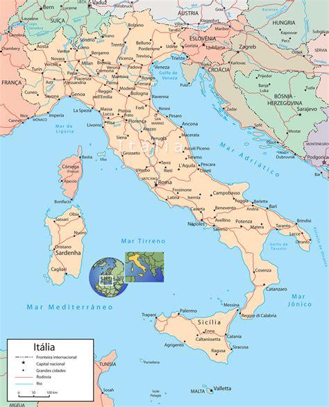 d itala mapa it 225 lia principais cidades roma veneza floren 231 a