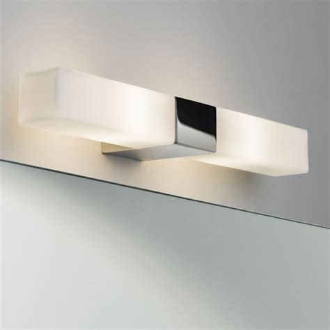 Bathroom Mirror Wall Lights Astro 7028 Square Bathroom Mirror Wall Light Polished Chrome