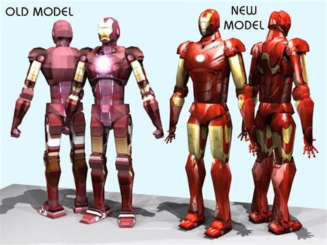 RGatt Personal Work and Tests: IRONMAN 2 PAPERCRAFT   MARK 4