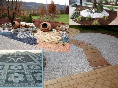 giardini con ciottoli bianchi arredare il giardino con pietre e ciottoli la guida al