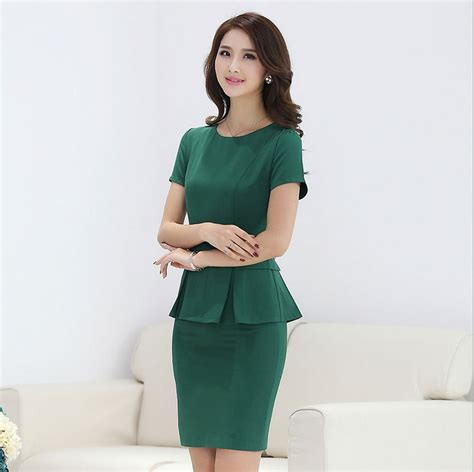 female working suits 2015 summer style ladies work suits designs new 2015 green