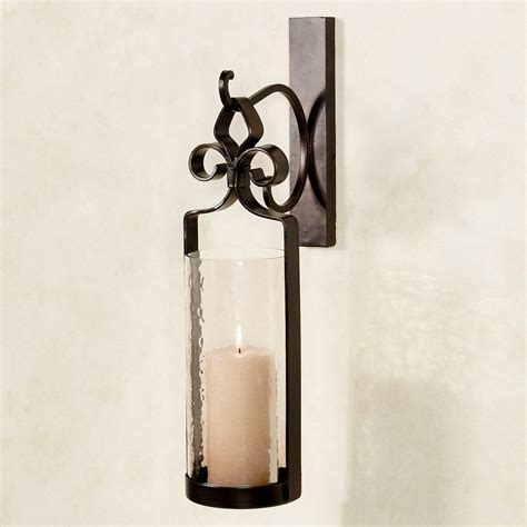 hanging candle sconces hanging wall candle sconces fresh home concept black iron