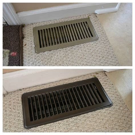 room to room vent update your vent covers with spray paint