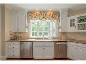 Cute window valance over kitchen sink valances and top treatments