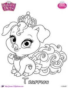 truffles princess palace pet coloring skgaleana crafting coloration