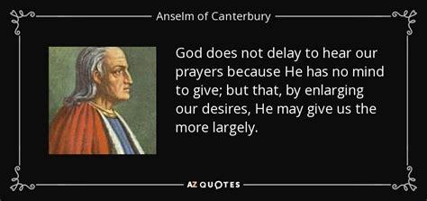 saint anselm quotes quotesgram