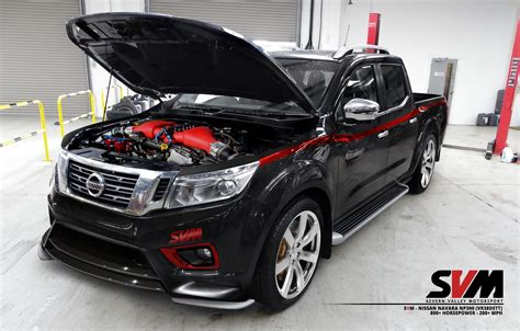 nissan np300 navara nissan navara np300 gets 800hp gt r engine conversion