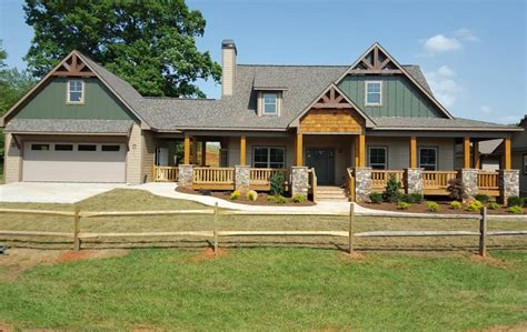 Double Porch House Plans Americas Home Place The Hickory Ridge Iii B