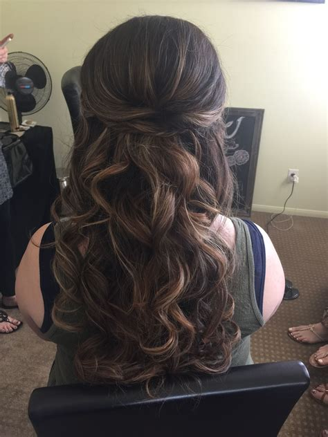 Half Up Wedding Hairstyles Back View by Show Me Your Half Up Hairstyles With Headband And