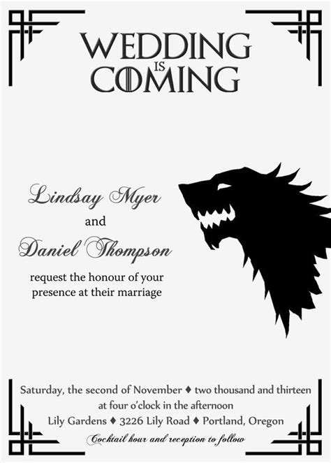 Of Thrones Card Template by 15 Best Wedding Dresses Images On Wedding