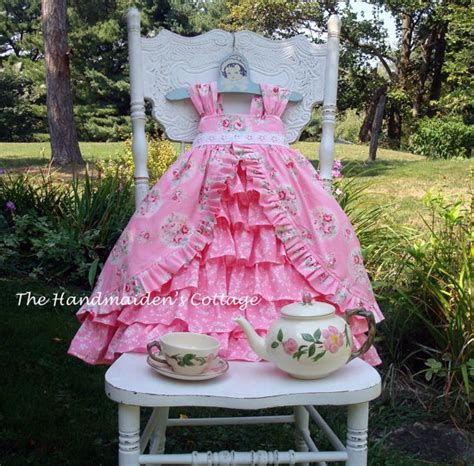 Handmaidens Cottage by Tea Dress Pattern By The Handmaiden S Cottage