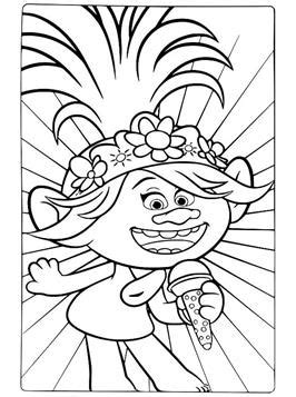 Kids-n-fun.com | 16 coloring pages of Trolls World Tour