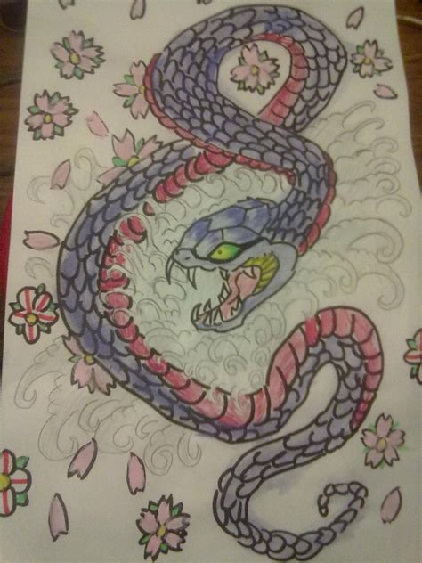 japanese snake by dannydark895 on deviantart