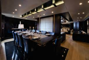 Amazingly the dining area onboard can seat up to ten guests with ease