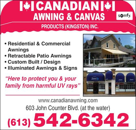 Astrup Awning Canadian Awning And Canvas Opening Hours 603 John