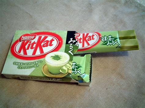 Kitkat Greentea food for thought japanese kit flavours