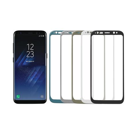 Tempered Glass 3d Samsung Galaxy S8 Curve Cover Anti Gores samsung galaxy s8 panssarilasi 3d cover tempered glass suojakalvotukku jo vuodesta