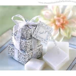 Wedding Favors Wholesale by Promotional Wedding Favor Stacked Gift Box Soap Favor
