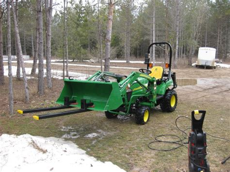 Landscape Rake Harbor Freight Jd 2320 50 Hour Service Mytractorforum The