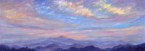 Table Asheville Panoramic Mountain Oil Paintings And Prints Of Western