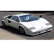 1981 Lamborghini Countach LP400S S2 Frontjpg  Wikimedia