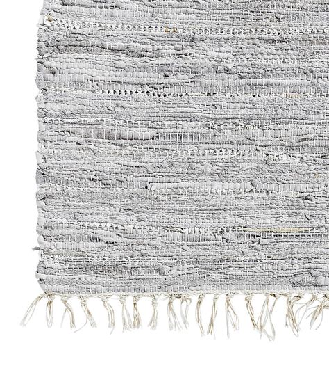 leather rag rug leather rag rug by bell blue notonthehighstreet