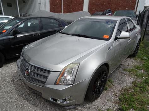 2008 cadillac cts sedan 2008 cadillac cts sedan silver bay area auction services