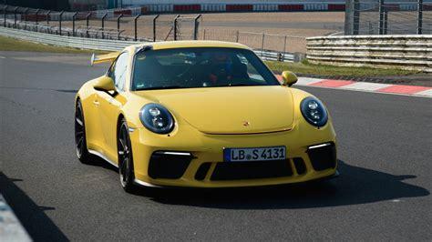 Porsche Nurburgring by Porsche 911 Gt3 Nurburgring Motor1 Photos
