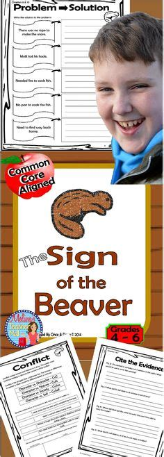 sign of the beaver book report sign of the beaver unit lapbooks