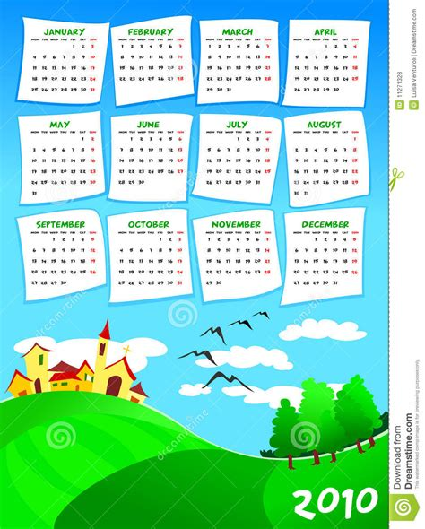 Next Years Calendar Calendar Of Next Year Royalty Free Stock Photos Image