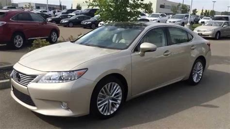 gold lexus lexus certified pre owned 2013 es 350 gold on parchment