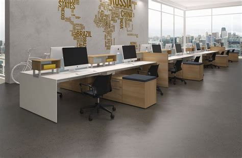 Office Desk Layouts Modular Office Furniture Modern Workstations Cool Cubicles Sit Stand Benching Systems офис