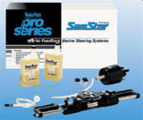 bass boat hydraulic steering kit teleflex hk7400a seastar pro hydraulic steering kit 8647