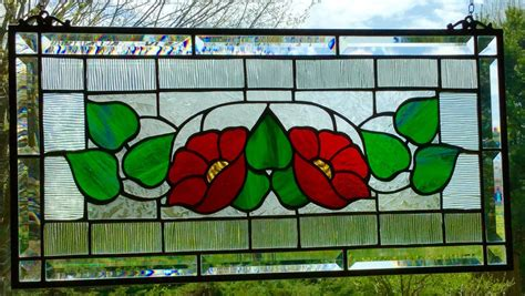 stained glass window panels hanging stained glass window panel rectangle beveled glass