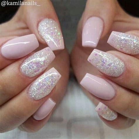 pink glitter acrylic nail designs 25 best ideas about acrylics on pinterest acrylic nails
