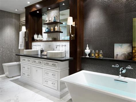 luxurious bathroom makeovers   stars hgtv