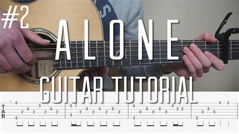 flashlight tutorial fingerstyle mattias krantz alan walker alone fingerstyle guitar