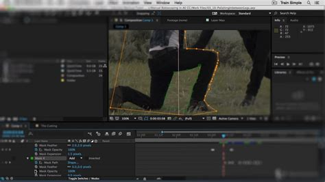 tutorial after effect rotoscoping after effects cc rotoscoping pluralsight
