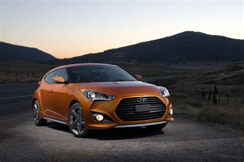 hyundai veloster turbo vitamin c 2014 hyundai veloster turbo front photo vitamin c color