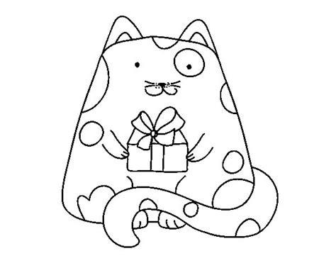 dibujos para pintar kawaii imagenes de gatos kawaii para colorear